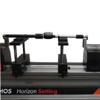 Setting of two points internal and external comparative measuring equipment