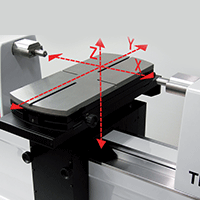 CNC-controlled measurement with automatic reversal point search Trimos