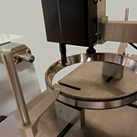 CNC controlled internal taper ring measurement Trimos
