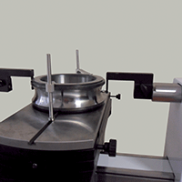CNC controlled external measurement of a bearing ring Trimos