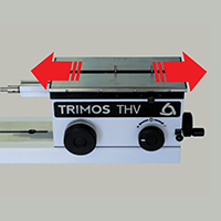 Trimos Floating table for more accurate internal measurements