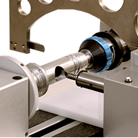 measurement of cylinder-shaped parts